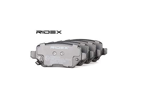 RIDEX 402b0004Kit pastiglie freno, Freno A Disco bremsbe Lage, bremssteine, Pastiglie freni