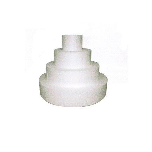 Cuisineonly - Présentoir polystyrène gateau rond diamètre 25 cm. Cuisine : Autour de la pâtisserie (Présentation Weeding Cake)