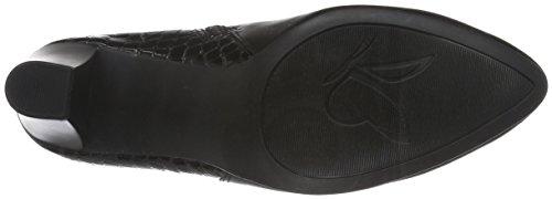 Caprice Damen 25344 Kurzschaft Stiefel Schwarz (BLACK COMB 19)