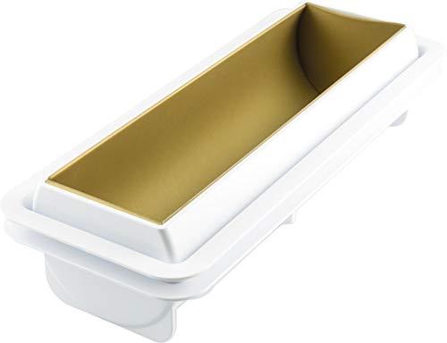 "silikomart"" Magic Buche Kit for Semifreddo Twisted Texture, Silicone, Grey, 12 x 29.5 x 5 cm"