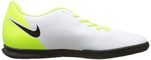 Nike Mens Magistax Ola Ii Ic Scarpe Da Calcio Bianche (bianco / Nero-vert Volt-lupo Grigio)