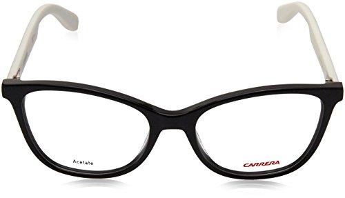 Carrera Montures de lunettes Ca5501 Craze Pour Femme Mud / Orange 8TY: Black / White