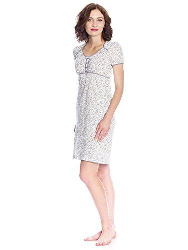 Vive Maria Dreamy Day Nightdress White Allover, Camicia da Notte Donna Weiß (white allover)