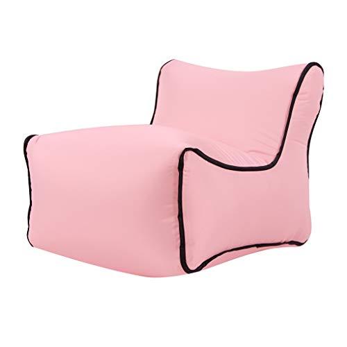 Holywin Haus Aufblasbarer Luft-Ruhesessel faul Couch Chair Sofa Bags Party im Freien - Zwei Panel-grüne Vorhänge