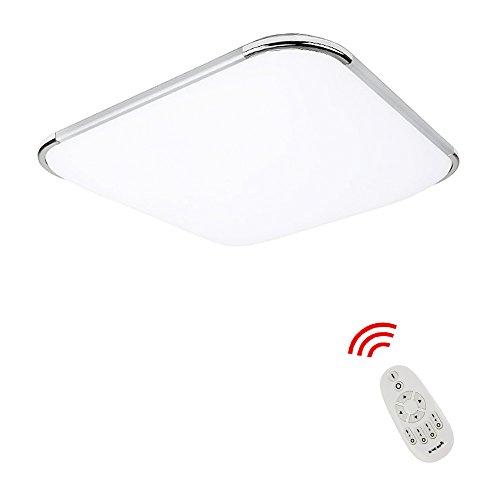 36W Dimmbar LED Deckenlampe Alu-matt Energiespar Deckenleuchte Badlampe für Küche Wohnzimmer