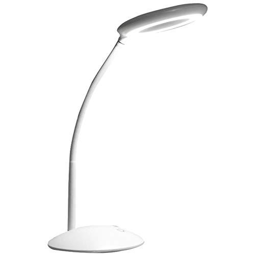 CUHAWUDBA Lupe-2 In 1 Clamp Tisch Und Schreibtisch Lampe Sparende Led Lampe Mit Ultra Hellem Tageslicht, perfekt Zum Lesen, Hobby, Handwerk, Werkbank Mit Usb Anschluss -