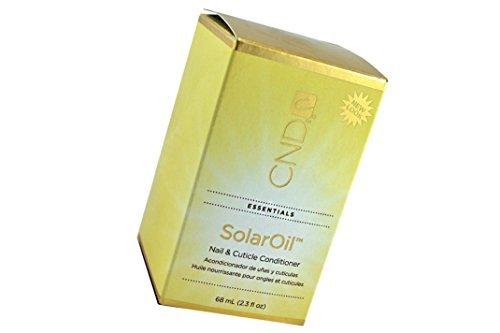 CND Creative Solar Oil Cuticle Solaroil Nail Cuticle Conditioner Polish Treatment Salon - Size 2.35 lf oz / 68 ml. by CND Cosmetics