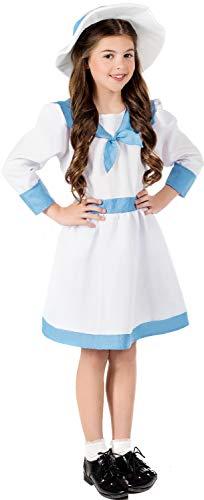 Kostüm Edwardian Kinder - Fancy Me Mädchen Mary Lennox The Secret Garden World Book Day Week Historisches Edwardianisches TV-Film-Kostüm