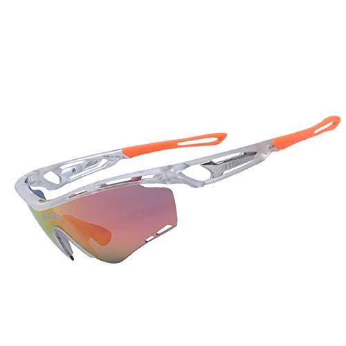 Radbrille Mit Lesehilfe Outdoor Sportarten Bergsteigen Angeln Polarisierte Sonnenbrillen Reiten Brille Mountainbike Brille Silver Damen Herren