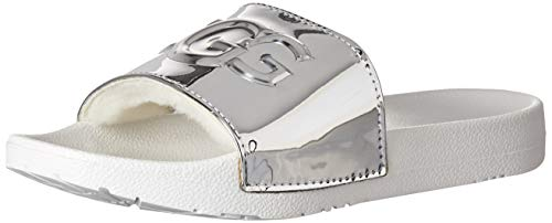 UGG Royale Graphic Metallic Sandale 2019 Silver, 38