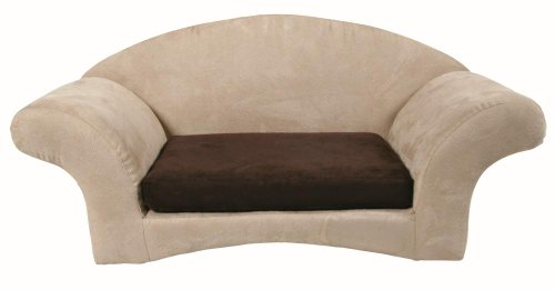 Trixie 3680 Charmel Sofa, 65 × 30 × 35 cm, beige/mokka