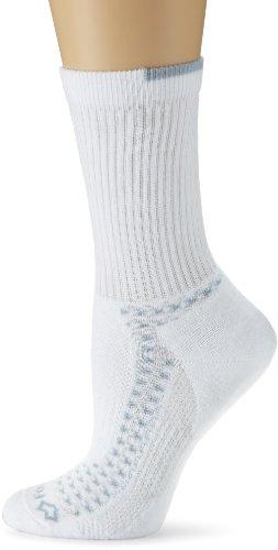 Fox River Damen Endurance Crew Socke, damen, weiß (Fox River Damen-socken)