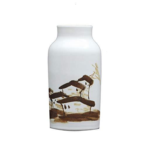 Blumentischplatte-Blumenblume der keramischen Vasenwohnzimmerstudienheimdekoration künstliche