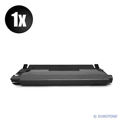 Preisvergleich Produktbild 1x Eurotone Toner für Samsung CLP 310 315 W N ersetzt CLT-K4092S Black Schwarz
