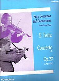 Friedrich Seitz: Konzert für Violine und Klavier in D Op.22