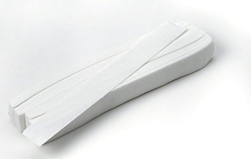 Mini-wachs-streifen (100Mini-Wachsstreifen zur präzisen Haarentfernung an empfindlichen Körperpartien, 13x1,5cm)
