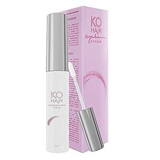 KÖ Hair Cejas Serum para Cejas Crecimiento para larga y densidad Infusión – Eyebrow Enhancer Serum de sustancias naturales basado en, 3 ml