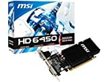MSI ATI Radeon HD 6450 Grafikkarte (PCI-e, 2GB DDR3 Speicher, VGA, DVI, HDMI) Passiv