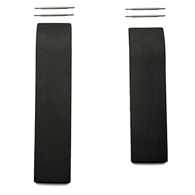 Correa caucho negro Tissot T-Race 20mm T610014610 modelos T472