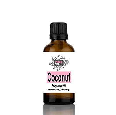 10ml Fragrance Oil - Candle, Bath bomb, Soap, Bath Salts, cosmetic Making fragrant Scent ( 14. Coconut ) by NA