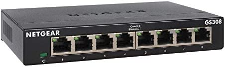 NETGEAR GS305-300PES Switch Ethernet Métal 5 ports Gigabit (10/100/1000) pour une Connectivité Simple