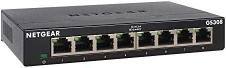 NETGEAR GS305-300PES Switch Ethernet Métal 5 ports Gigabit (10/100/1000) pour une Connectivité Simple
