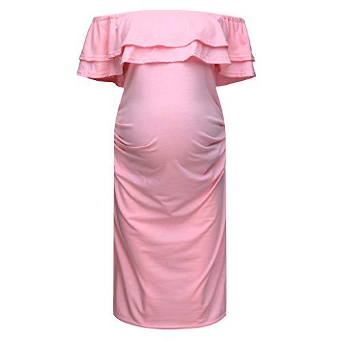 ada2ea400 GUCIStyle Vestidos Embarazada Ropa Premama Vestido para Mujeres ...