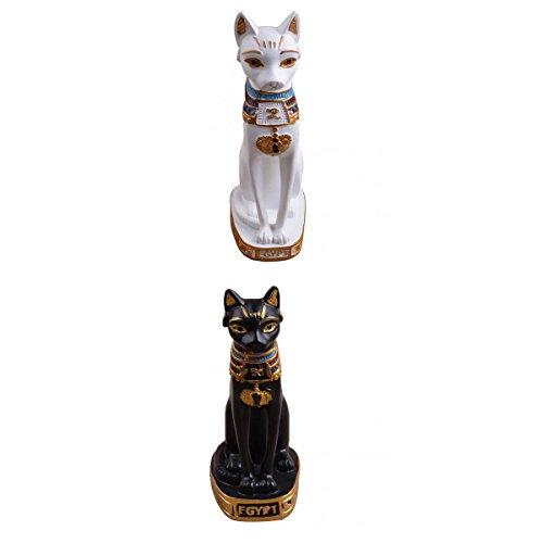 MagiDeal Estatua Figura Escultura Resina Egipcio MAU