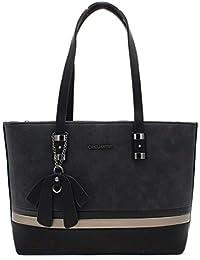 06de4a92bccf HELLO BAG BY MODE   VOGUE Sac Cabas Femmes Shopping - Sac Cours Format A4  Etudiante – Porté Epaule A Main – Sac Fourre Tout Taille…