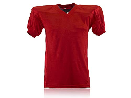 Full Force American Football Gamesjersey, Rot, Gr. YL-5XL
