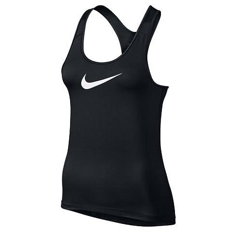 Nike Damen NIKE PRO COOL TANK Tanktop, Black/White, S