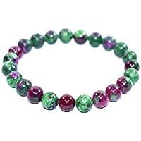 Bracelet Ruby Zoisite 8 MM Birthstone Handmade Healing Power Crystal Beads preisvergleich bei billige-tabletten.eu