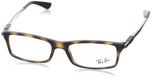 Ray-Ban Herren Brillengestell 0rx 7017 5200 52, Braun (Matte Havana)
