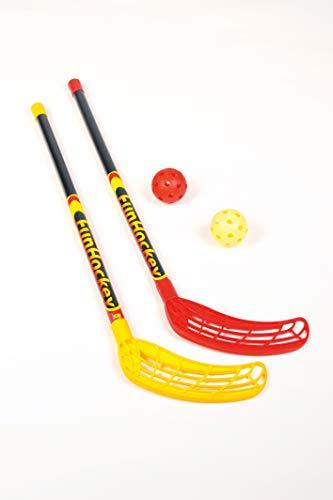 Bandito 4415.01 Set da Hockey, Nero/Giallo/Rosso, 95 x 23.4 x 10 cm