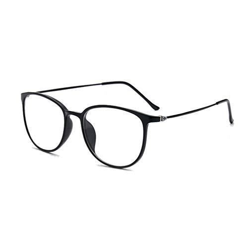 742e552161 Embryform Montura para Gafas de Vista Hombre y Mujer Antiguas Grandes  Vintage Visión Clara Glasses Cristal