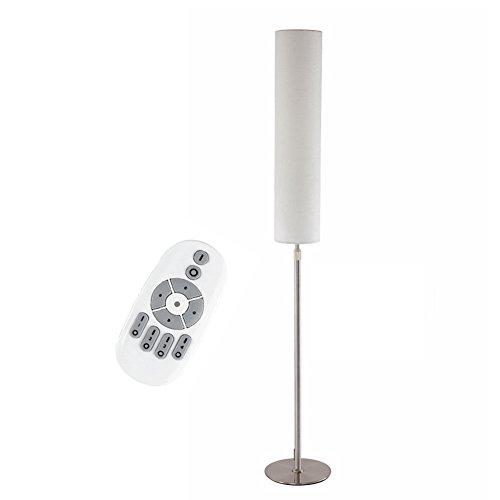 Dimmbare Standard Stehlampe, Eye-Cared LED Stehlampe Uplighter mit Fernbedienung und Fußschalter, für Wohnzimmer Schlafzimmer Studie lesen warmes Licht [Energieklasse A +] - Standard Stehlampe Deckenfluter Ist