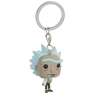 FunKo Pop Pocket Keychain Rick Morty Rick 12916