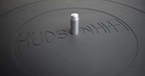 Hudson Hi-Fi giradischi Platter Mat–audiophile grade silicone gomma Design universale a tutti i lettori LP vinyl record