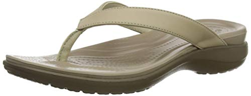 Considerate New Grey Flip Flops Crocs Size Woman 10/41 Sporting Goods
