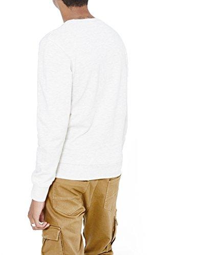 Celio Herren Sweatshirt Jeprem Beige (Beige Chiné)