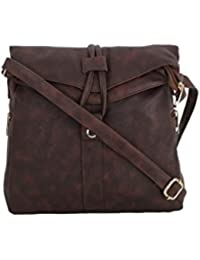 Vogue Street Girls Dark Brown Sling Bag