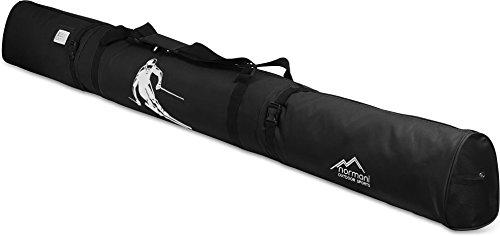 normani Skitasche Skisack in 170 cm und 200 cm Länge Farbe Schwarz Größe 170 cm