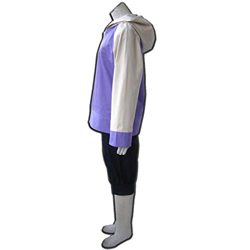 RL Anime Naruto Shippuuden Hinata Hyuga 2. Generation Voll Combo Set Cosplay Sportbekleidung Naruto Hoodies Sweatshirts,Hinata Clothing-S