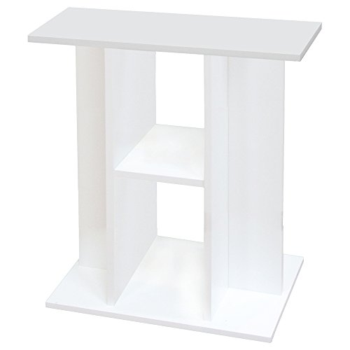 Aquadisio - Meuble pour Aquarium Blanc - 60cm