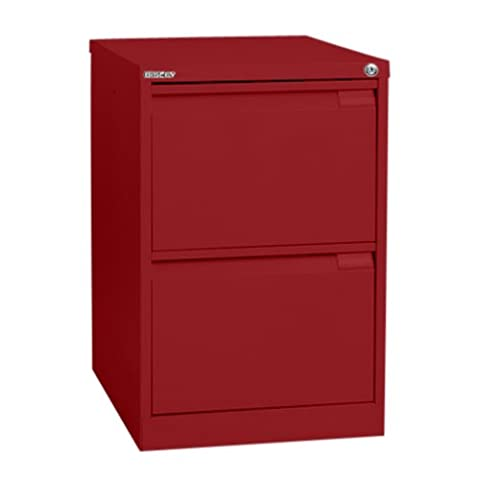 Bisley BS2E 2 71 cm Filing Drawer - Cardinal Red