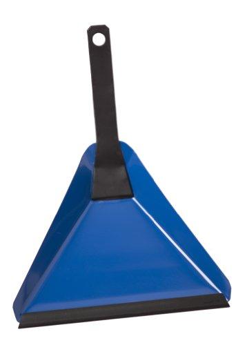 V7 Kehr-Schaufel mit Gummilippe zum Aufsammeln von Schmutz, Zubehör für V7 Hand-Feger, blau