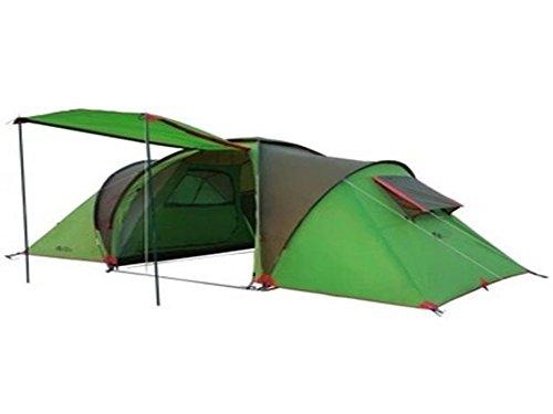 Mqhy tent 2 camera 1 hall grandi tende multi tenda persona antivento e anti pioggia a doppio strato tende a caldo outdoor da viaggio tenda da campeggio tende verde,5-8 persona