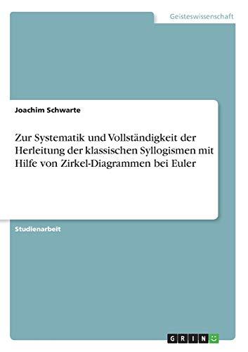 Zur Systematik und Vollständigkeit der Herleitung der klassischen Syllogismen mit Hilfe von Zirkel-Diagrammen bei Euler