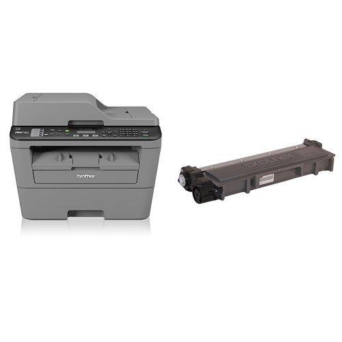 Brother MFC-L2700DW Stampante Multifunzione Laser,...