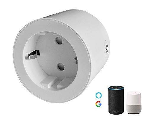 StripPower WiFi-SteckdosenleisteEinlochmontage nach europäischem Standard, Fernbedienung für Mobiltelefonmit Alexa, Google Home
